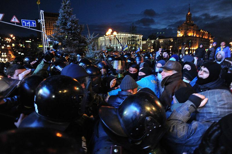 Euromaidan (bron: Wikimedia)
